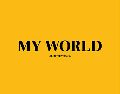 My World (Illustrations on Photo)