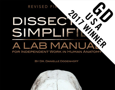 Dissection Simplified Lab Manual Book Cover Design
