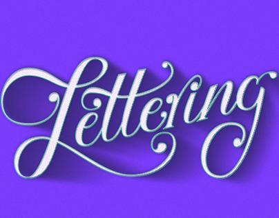 Lettering Logos & Shots