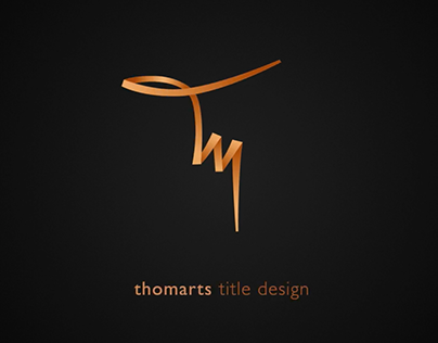 thomarts | title design reel