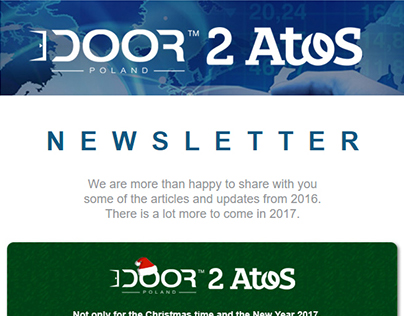 E-mail - Newsletter DOOR 2 ATOS