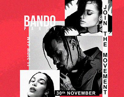 FLYER BANDO PARTY SEASON 2018/2019