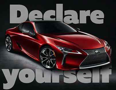 Declare Yourself With Lexus LC | Promo Cover-generator