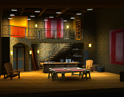 Scenic Design Collection - Digital 3D Models