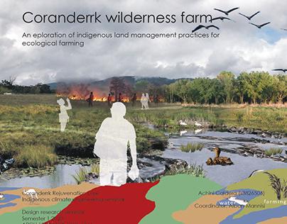 Coranderrk wilderness farm