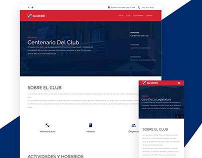 Villa Luro Norte - Sitio Web