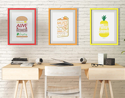Poster Series - Food Quotes