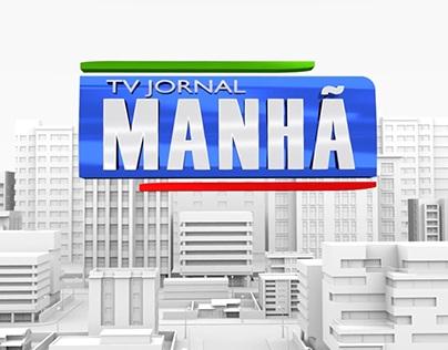 Vinhetas desenvolvidas para TV Jornal Interior PE