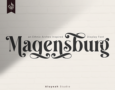 FREE   Magensburg Display Font