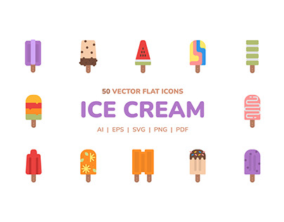 Ice Cream Icon Pack