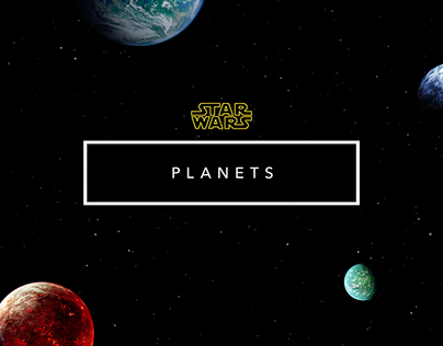 Star Wars // Planets