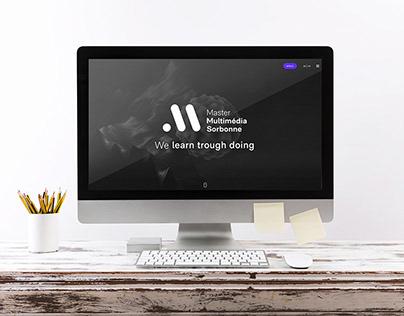 UI Design pour Master MMI