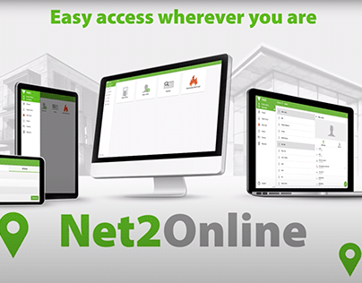 Net2Online - animated software launch video