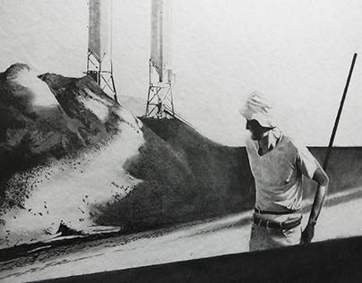 Still #1   drawing series