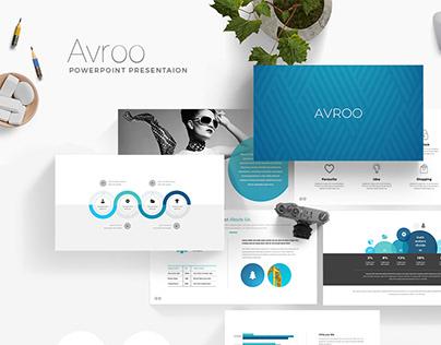 Avroo Creative Minimal Presentation Template