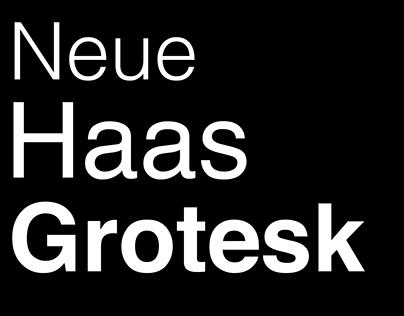 Helvetica brochure