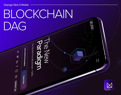 [UIUX] LINIX, Blockchain Onepage web design