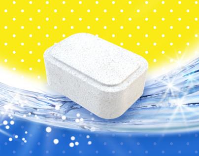 Tablet for dishwasher