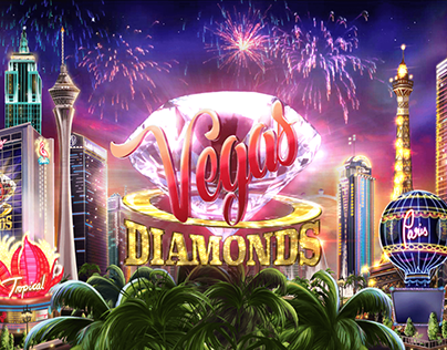 Vegas Diamond Game Art - Released November 2018