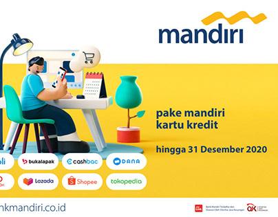 Bank Mandiri Ecommerce Campaign