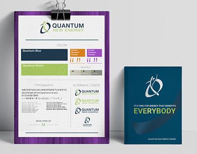 Quantum New Energy Logo & Brand Development