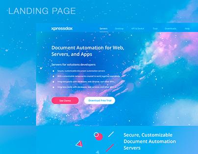 Redesign web site