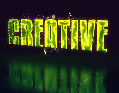 Creative Glitch - Animated Title