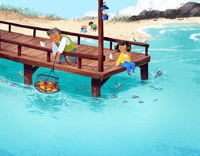 Grandpop's Ocean