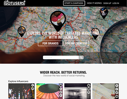 GotUsers: Connecting Brands with Great Influencers