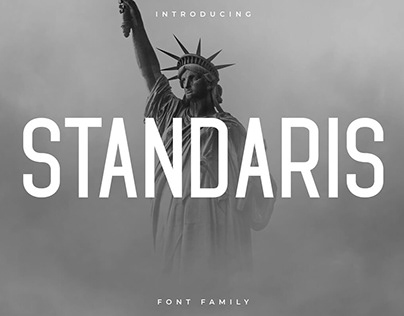 Free Standaris Sans Serif Font