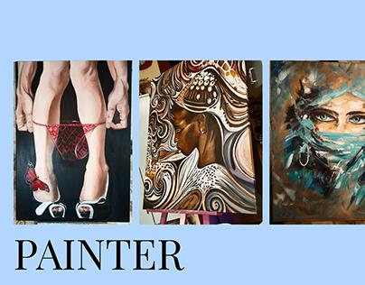 Webdesign painter Nelli Markina