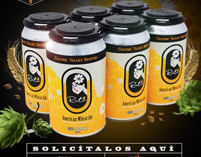 Publicdad para redes sociales Cerveza Artesanal Rutí