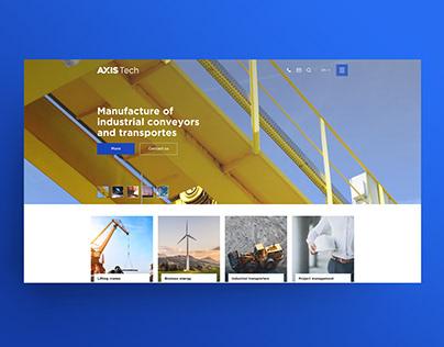 Online store for industrial equipment - UI/UX