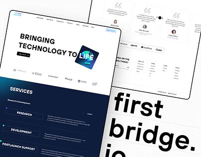 Firstbridge.io UX\UI