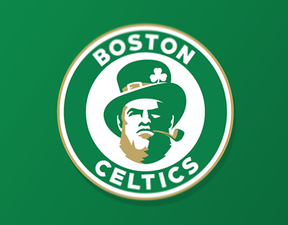 Boston Celtics logo concept