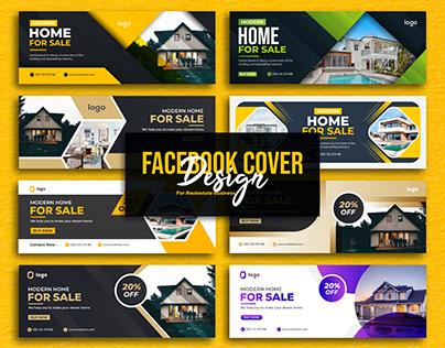 Facebook cover & Banner Design for Real estate Business