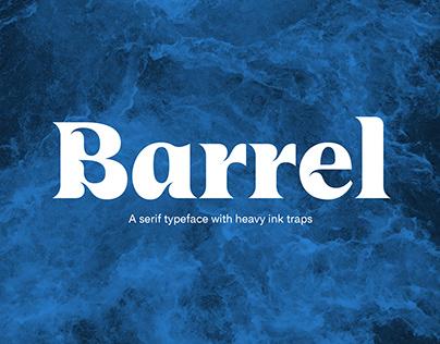 UT Barrel font