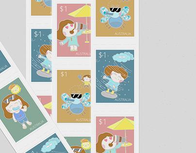 Postage stamp: Melbourne Starter Pack