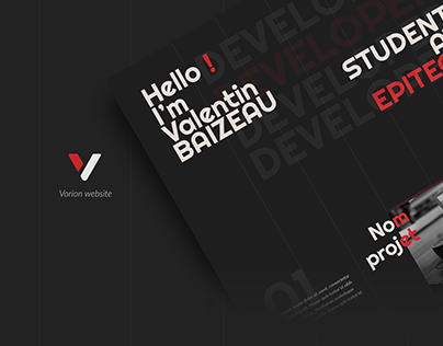 Vorion | logo & website