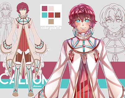 Callum - Character Design