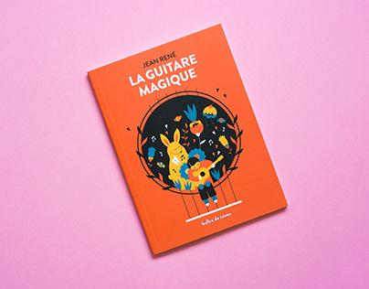 AD & illustration: La Guitare magique