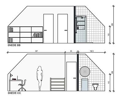 Rethinking the attic - house antwerp