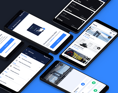 Kisi App Redesign - Cloud based keyless access control