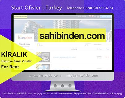 Sahibinden.com Sitesindeki Start Ofisler Mağazamız
