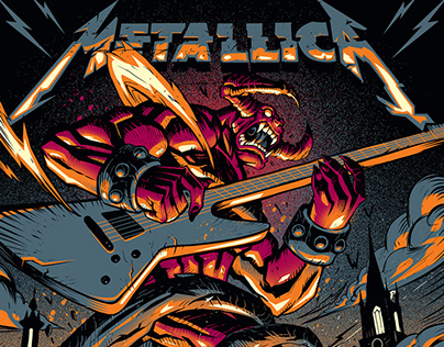 METALLICA May 7th, Stockholm Sweden