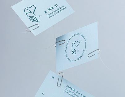 Brand Identity for A pra ti
