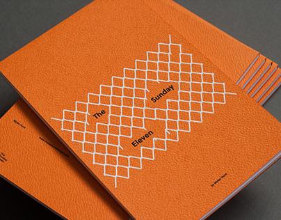 A6 Postcard book Screen print + Debossing