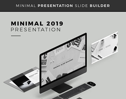 Minimal 2019 - Powerpoint Presentation Template / NEW /