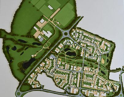 North Weald Masterplan Model