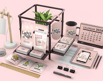 Ladys Night - Branding & Packaging
